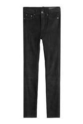 Rag And Bone Suede Pants Black