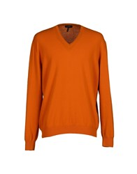 Byblos Knitwear Jumpers Men Orange