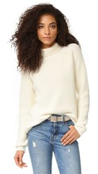 Sincerely Jules Reims Turtleneck Sweater Ivory