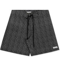 Noap Studio Black Spray Stretch Boardshorts