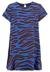The Fifth Label Bright Young Things Summer Dress Blue Multicoloured