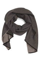 Alexander Olch Men's 'Dashiell' Cashmere And Silk Scarf Tan Grey