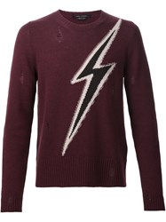 Marc Jacobs Thunder Jumper Red