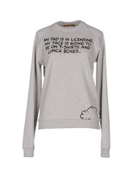 Peter Jensen Topwear Sweatshirts Women Light Grey