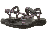 Skechers Regae Redemption Black Multi Women's Sandals