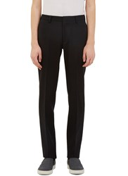 Calvin Klein Exact Slim Leg Wool Pants Black