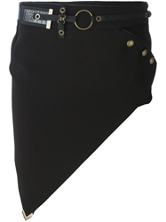 Anthony Vaccarello Asymmetric Mini Skirt