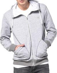 Bench Zip Up Hoodie Grey