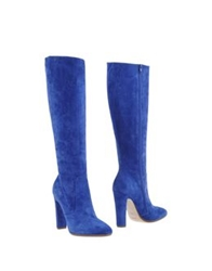 Michel Perry Boots Blue
