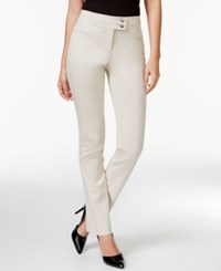 Styleandco. Style And Co. Slim Leg Tummy Control Pants