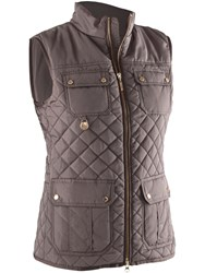 Abacus Holmen Quilted Gilet Brown