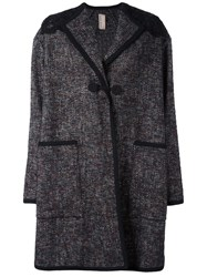 Antonio Marras Single Breasted Coat Black