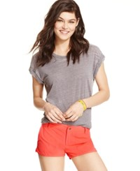Roxy Juniors' Dolphin Hem Board Shorts Living Coral