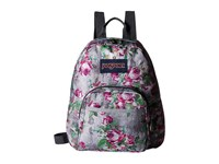 Jansport Half Pint Multi Concrete Floral Backpack Bags Black