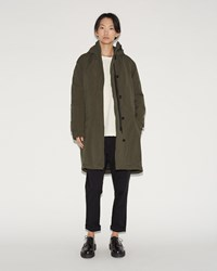 Hope Wom Parka Khaki Green