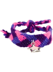 Very Gavello Star Essenses Bracelet Pink And Purple