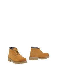 Tata Ankle Boots Camel