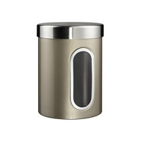Wesco Kitchen Storage Canister With Window New Silver