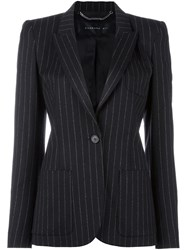 Barbara Bui Striped Blazer Black