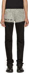 Hood By Air Black And Grey Slavato Bode Jeans