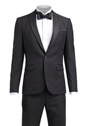 Burton Menswear London Slim Suit Black