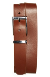 Johnston Murphy Calfskin Leather Belt Tan