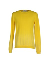 Mauro Grifoni Knitwear Jumpers Men Yellow