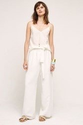 Anthropologie Sulis Wide Legs White