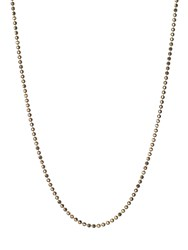 Links Of London Facetted Gold Ball Chain 41 45Cm