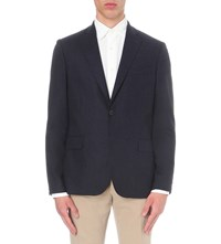 J. Lindeberg Hopper Stretch Wool Jacket Midnight