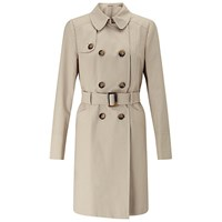 Miss Selfridge Trench Coat Stone