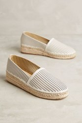 Anthropologie We Who See Didi Espadrilles White 5 Flats