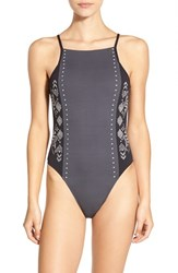 Rip Curl Women's 'Day Dream' One Piece Swimsuit Black