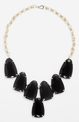 Women's Kendra Scott 'Harlow' Necklace Black Onyx Gold