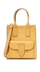 Frye Casey Mini North South Tote Yellow