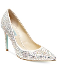 Blue By Betsey Johnson Ariel Evening Pumps Women's Shoes Champagne