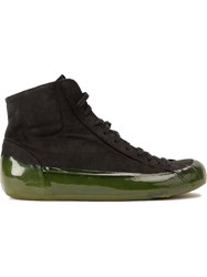 Oxs Rubber Soul Extended Sole Hi Tops Black