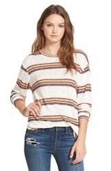 Ace Delivery Stripe Knit Sweater Multi Stripe
