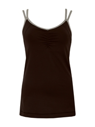 Green Lamb Active Tank Top Black