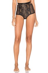 Lonely Lulu High Waisted Brief Black