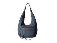 She Lo No Regrets Zip Hobo Denim Hobo Handbags Blue