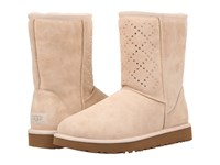 Ugg Classic Short Crystal Diamond Freshwater Pearl Women's Cold Weather Boots Gold