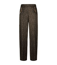 Hanro Adele Silk Pyjama Trousers Female Brown