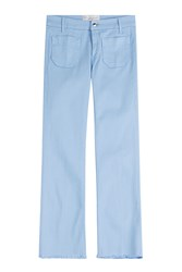 Seafarer Cropped Jeans Blue