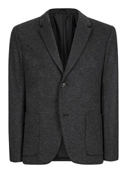 Topman Grey Charcoal Skinny Fit Blazer