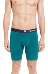 Tommy John Men's 'Cool Cotton' Boxer Briefs Teal Green