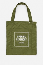 Opening Ceremony Eco Tote Bag Khaki