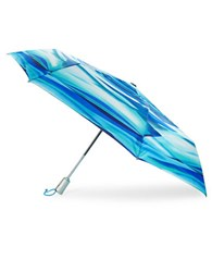 Totes Neverwet Sunguard Umbrella Blue Waves
