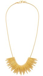 Madewell Thistle Statement Necklace Vintage Gold