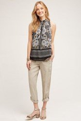 Anthropologie Piedmont Joggers Taupe